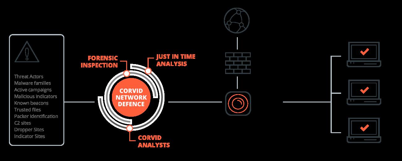 corvid-network-defence